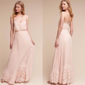 BHLDN Watters & Watters Dove Dress NEW!